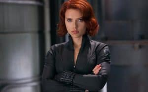black widow scarlett johansson marvel the avengers